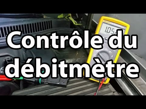 Contrôle Du Débitmètre / Test Of An Air Flow Meter / English Sub
