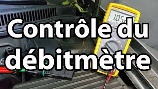 Contrôle du débitmètre / Test of an air flow meter / English sub