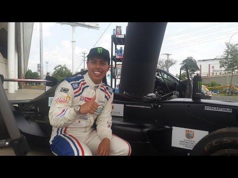 Entrevista con Oscar Tunjo piloto colombiano de la GP3 Series.