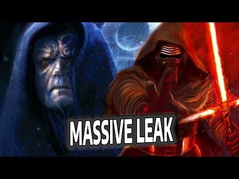 MASSIVE Episode 9 Leaks!! The Rise of Skywalker Plot REVEALED??
