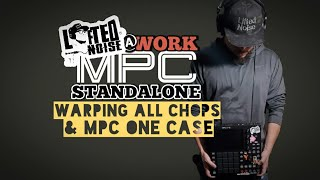 MPC ONE Case x Warp all Chops in a Program