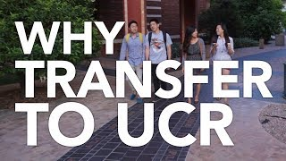 Why Transfer to UC Riverside?