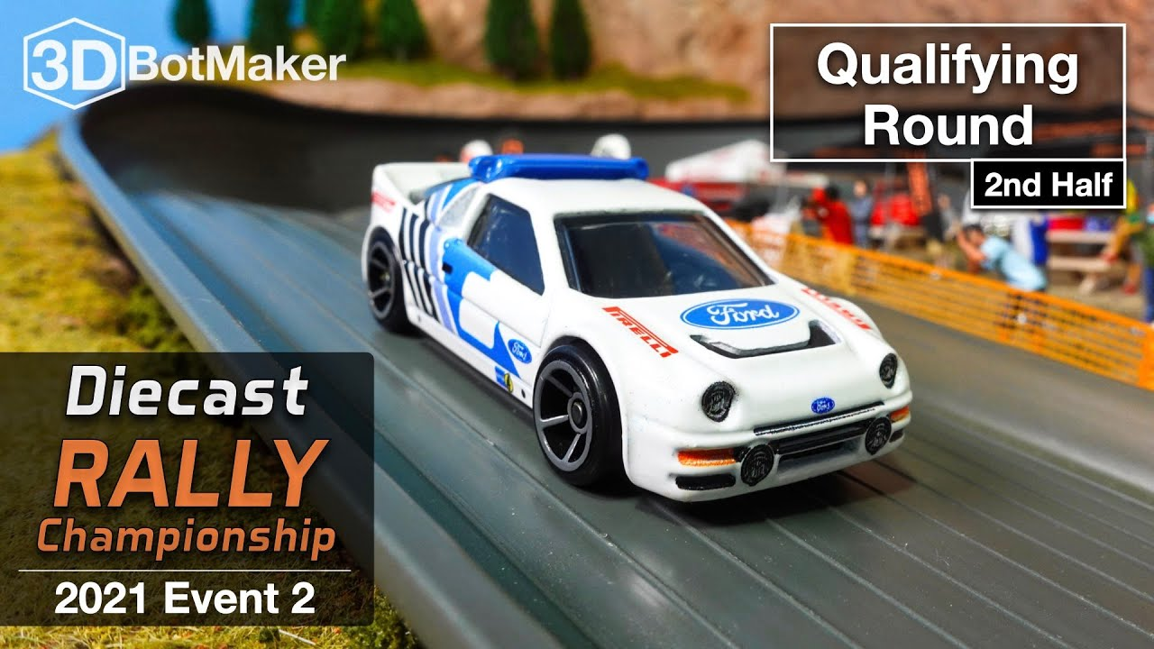 Diecast Rally Car Racing - Event 2 Qualifying pt. 2 - DRC Championship