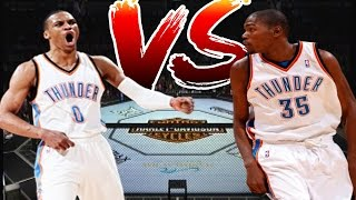 kevin durant vs russell westbrook beef westbrook laughs when asked about kd
