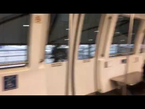Detroit International Airport internal Train