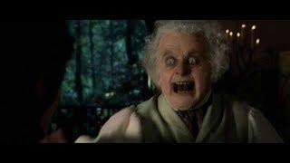 Бильбо пытается отнять кольцо у Фродо. HD