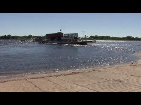 Kazungula Ferry, Botswana