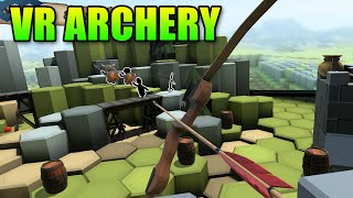 VR Archery Is Awesome! - LevelCap Gets The HTC Vive