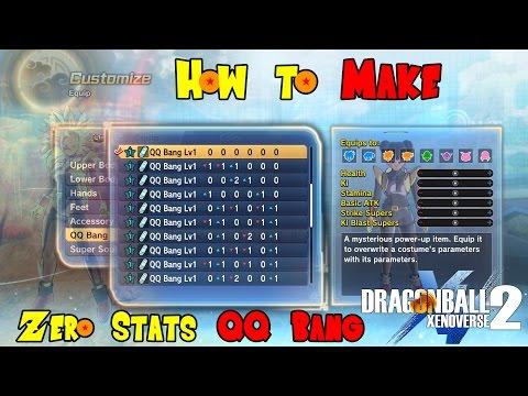 The ZERO STATS QQ Bang!! | Dragon Ball Xenoverse 2