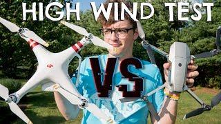 Which Will Win? DJI Phantom 3 Standard vs. DJI Mavic Pro Platinum in EXTREME Winds!