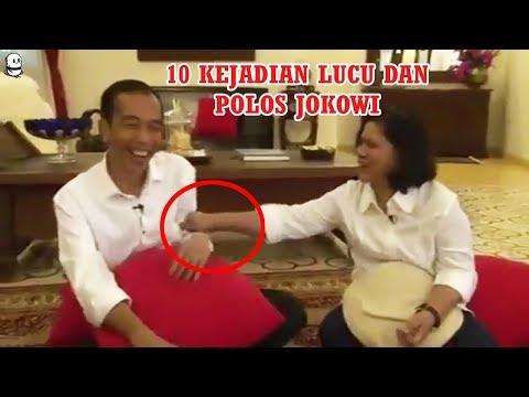 10 Momen Lucu Jokowi Dan Keluarga Yang Tertangkap Kamera