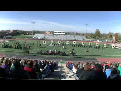 Olentangy High School Marching Band at MidStates AAA Championships 11.5.2016
