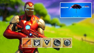 Fortnite All Mythic Weapons in One Game & Victory Royale Gameplay