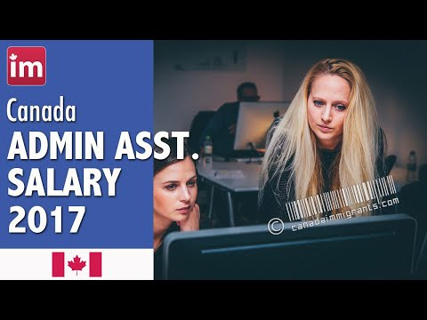 Administrative Officer Salary in Canada - Jobs in Canada 2017
