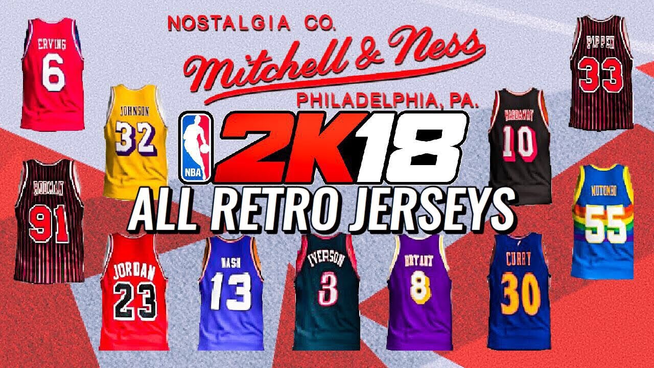 retro jerseys
