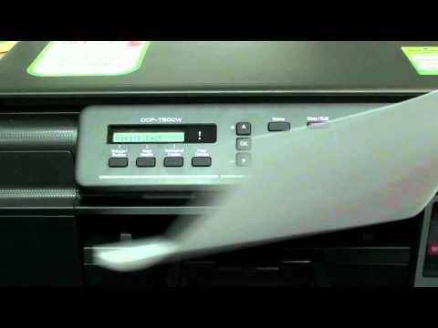 วิธีการติดตั้งเครีองบราเดอร์ รุ่น DCP-T500W แบบไวเลส (Wireless) Install wireless Brother DCP-T500W