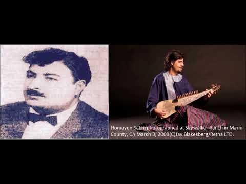 Ustad Humayun Sakhi - Rubab Playing Ustad Sarahang's Melodies.