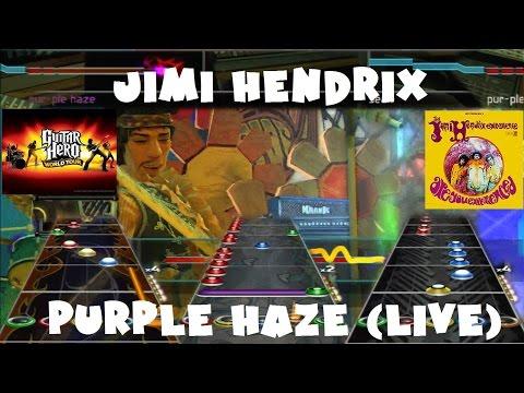 Jimi Hendrix - Purple Haze (Live) - Guitar...