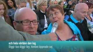 Herreys - Diggi-Loo-Diggi-Ley (Allsång på skansen 2012)