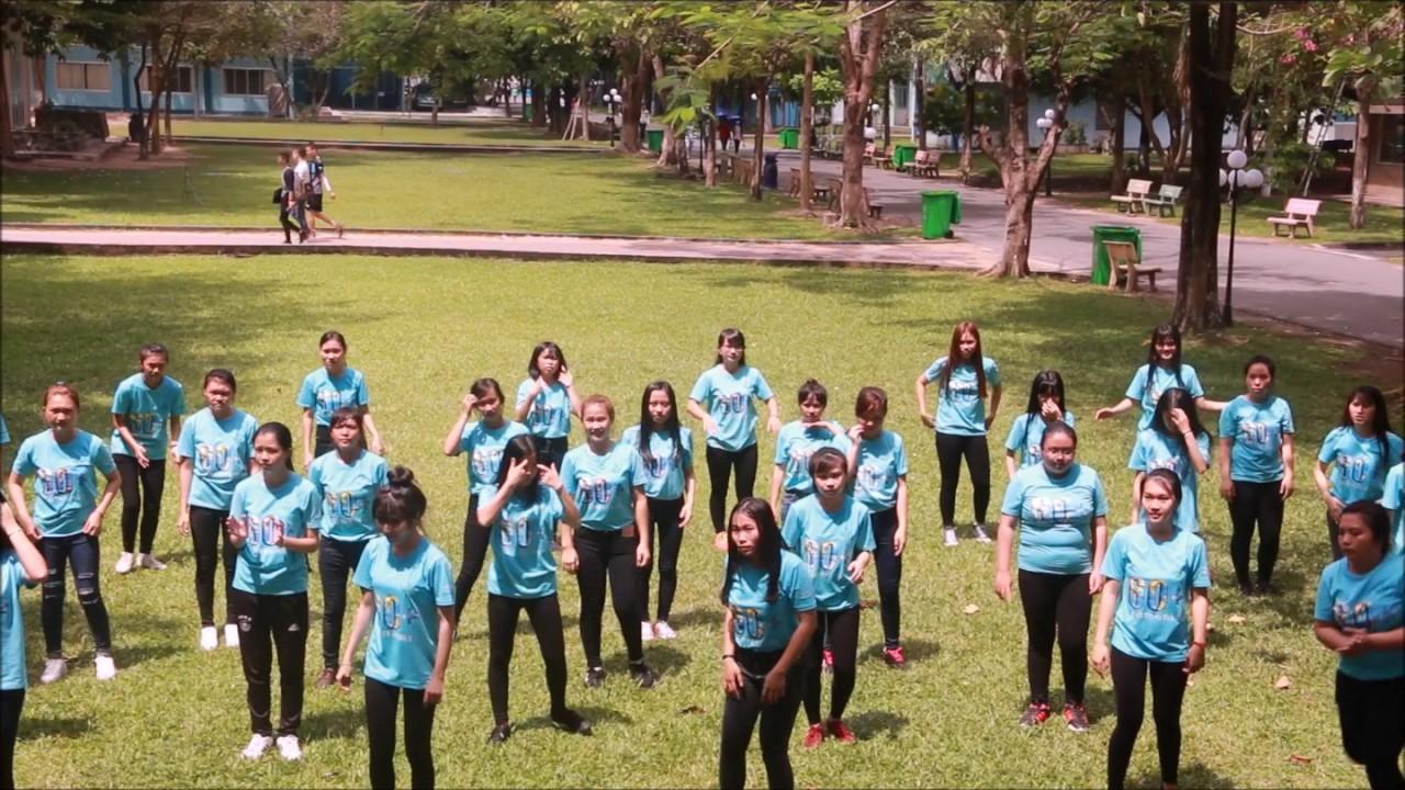 Flashmob Giờ Trái Đất 2017 – Trường ĐH Lao động – Xã hội (CSII)