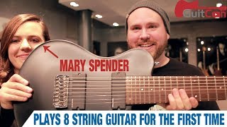 Baixar Mary Spender Plays an 8 String Guitar For The First Time | GEAR GODS