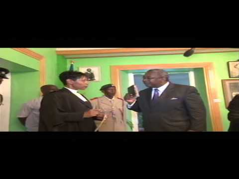 Swearing of St Kitts and Nevis Prime Minister Hon Dr. Timothy Harris