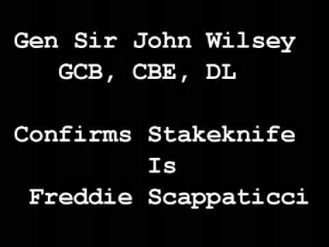 Gen. John Wilsey confirms: Stakeknife is Freddie Scappaticci
