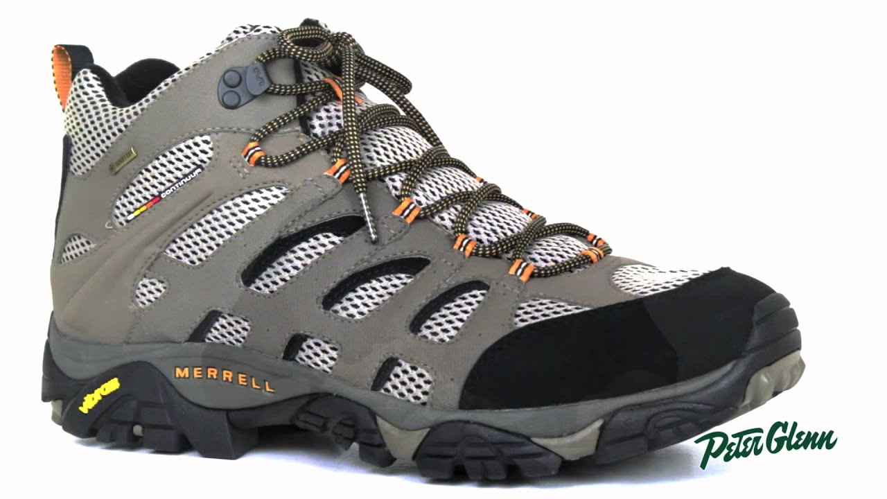 2015 Merrell Men's Moab Mid GORE-TEX Hiking Boot Review by Peter ...
