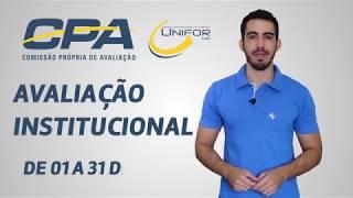 AVALIAÇÃO INSTITUCIONAL 2018 - PARTICIPE