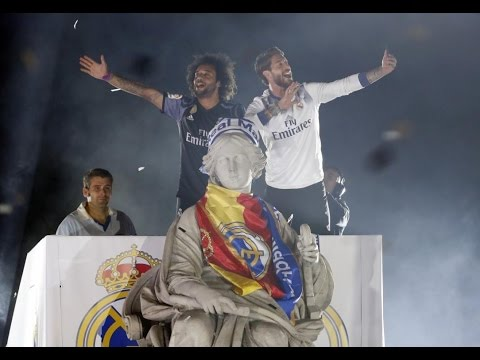 Celebración completa en Cibeles Real Madrid Campeón Liga 2016/17