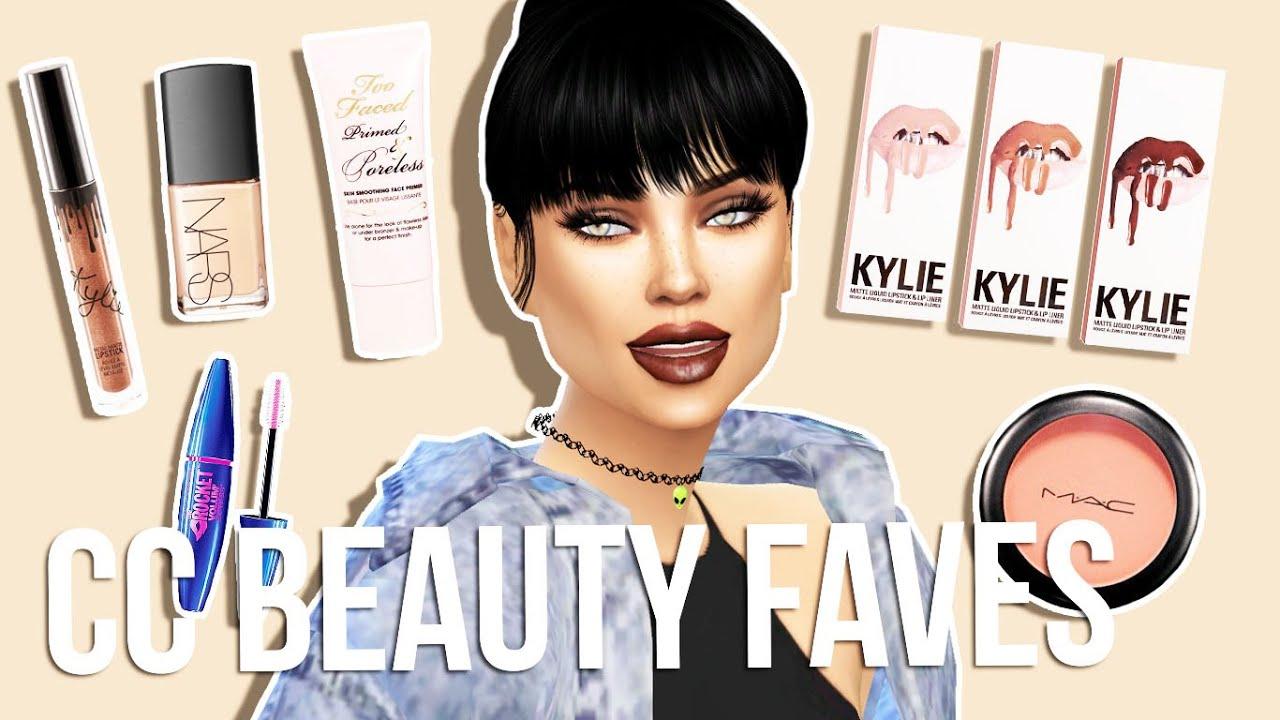 Sims Beauty Faves Kylie Lip Kits Graveyard