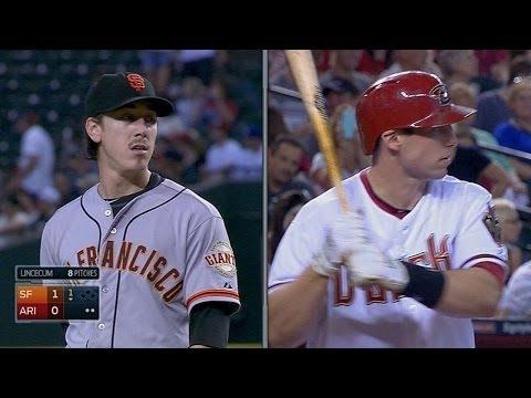 SF@ARI: Goldschmidt continues a hot bat vs. Lincecum