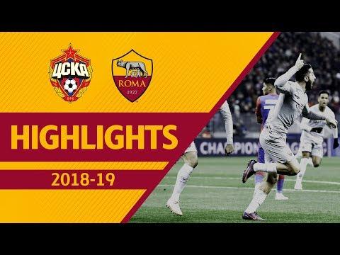 MANOLAS + PELLEGRINI! CSKA Moscow 1-2 ROMA, Highlights UCL 2018-19 thumbnail