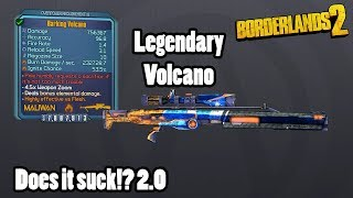 The Volcano is the Legendary Maliwan Sniper. It is only available i...