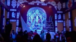 C.R Park kali mandir Durga Puja opening cremony.
