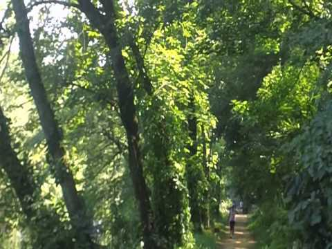 Exploring the Delaware and Raritan Canal in Princeton New Jersey