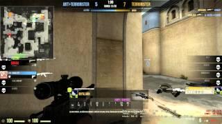 HeatoN Approves: 5 shots 5 kills. AWP ace 1v5!