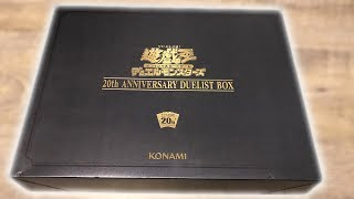 Stainless Steel Blue Eyes White Dragon OR Dark Magician?! Opening 20th Anniversary Collector Box