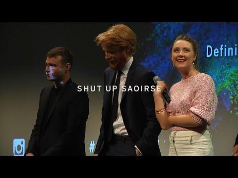 DOMHNALL GLEESON  Shut Up Saoirse  TIFF 2015