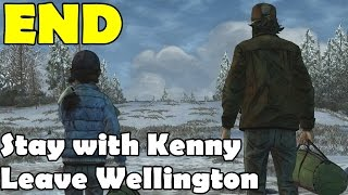 Stay with Kenny Ending Leave Wellington The Walking Dead Season 2 Episode 5 No Going Back