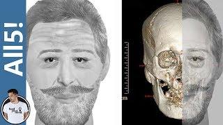 5 Amazing Facial Reconstructions Of Ancient Skulls!