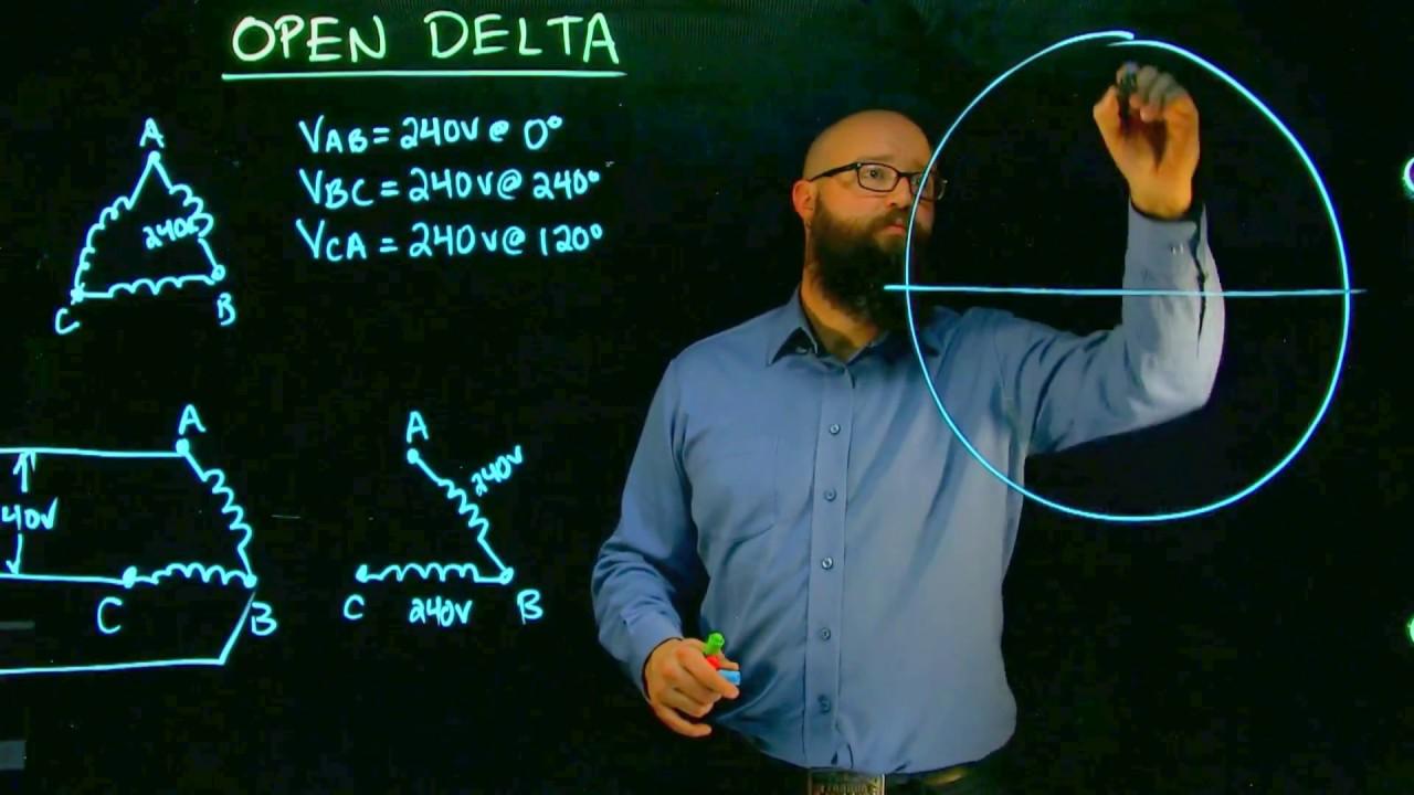open delta voltages [ 1280 x 720 Pixel ]