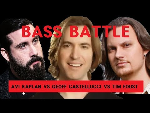 Avi VS Geoff VS Tim - BASS BATTLE Eb2 - G0 (low Notes Only)