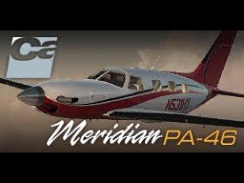 Piper Malibu Meridian, by Carenado  VFR: (ESSD-ESSA) To Stockholm