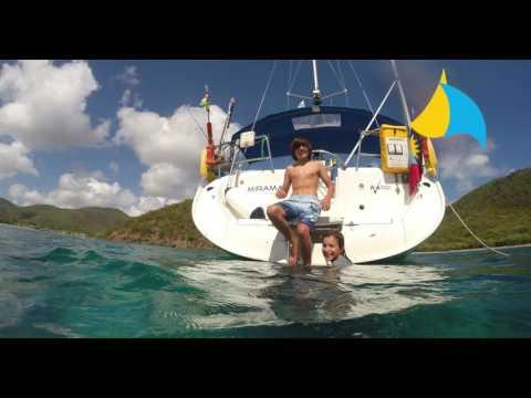 Miramar Sailing Vacation Video