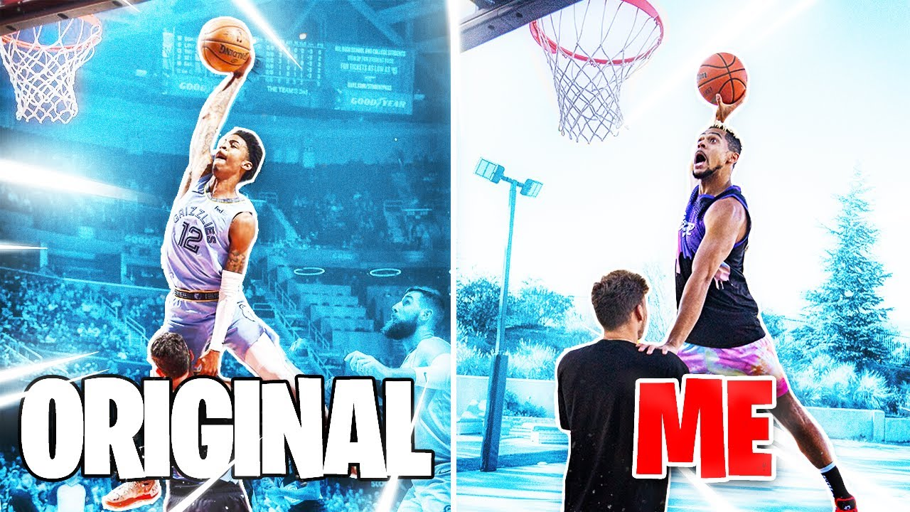 Recreating the BEST 2021 NBA Moments !!