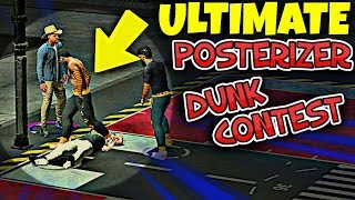 NBA 2k19 ULTIMATE PARK POSTERIZER DUNK CONTEST BEST SLASHER BUILDS CONTACT POSTER WITH 99 + DUNKING