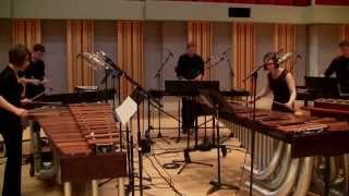 Viñao: Water, Movement 3. Todos los ríos El río - Eastman Percussion Ensemble