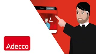 Video Flat design motion | Mon agence en ligne | Adecco download MP3, 3GP, MP4, WEBM, AVI, FLV Juni 2017