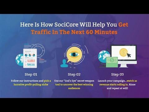 """""""SociCore"""" + $105 Prize Contest"""